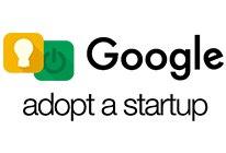 Google 'adopt a startup' logo